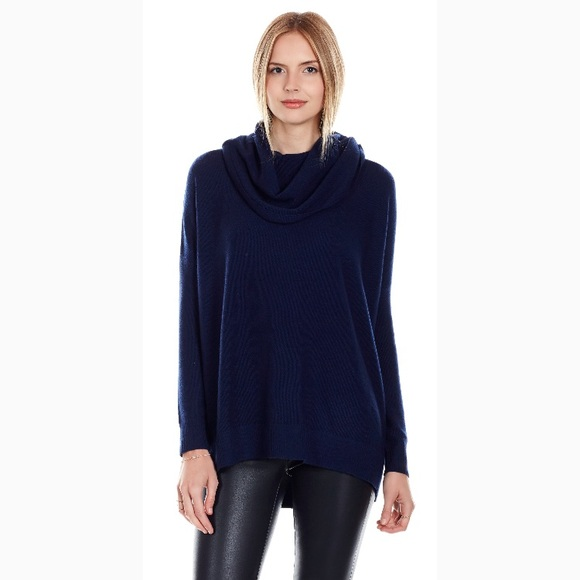 Joie Women's Sweater L Melantha Loose Cowl Neck